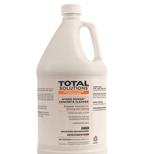 hydro power concrete cleaner
